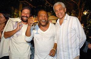 Com os parceiros João Bosco e Paulinho da Viola